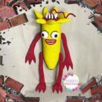 Банан Пожиратель выкройка для изготовления игрушки