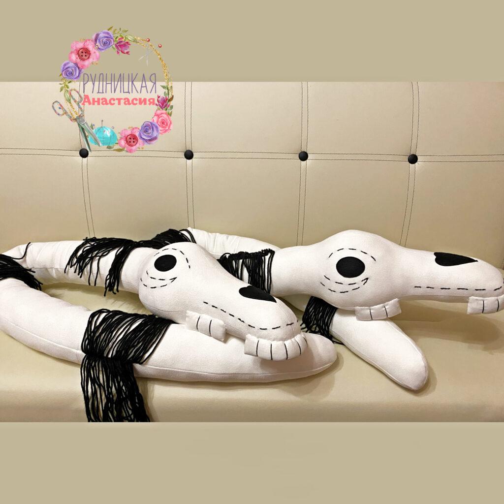 Долговязая Лошадь (Long Horse) выкройка для изготовления игрушки